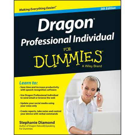 Dragon Professional Individual For Dummies - (Diamond Dummy)