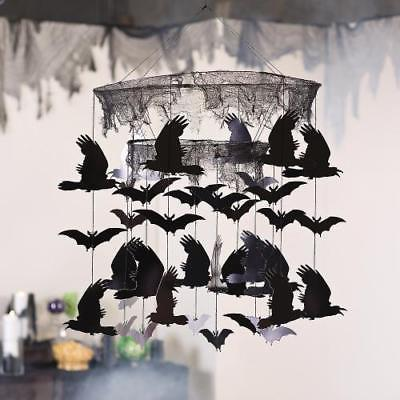 IN-13775123 Halloween Bats & Ravens Mobile by Fun Express