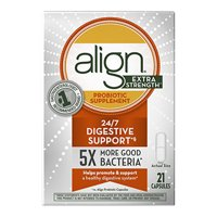 Align Extra Strength Daily Probiotic Capsules, 21 Ea
