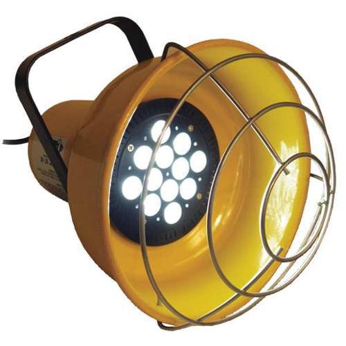 1 Lighthead Portable Floodlight, Yellow, Safety ,Fostoria, LED-1