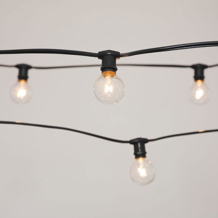 commercial string lights commercial globe string lights 50ft e12