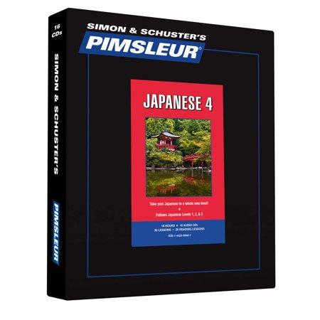 Pimsleur Japanese Level 4