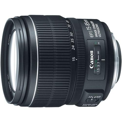 Canon 3560B002 EF-S 15-85mm F/3.5-5.6 IS USM Standard Zoom Lens