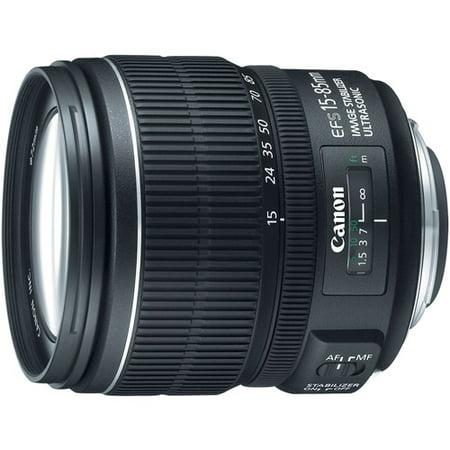 Canon Ef S 15 85Mm F 3 5 5 6 Is Usm Zoom Lens   15Mm To 85Mm   F 3 5 To 5 6  3560B002