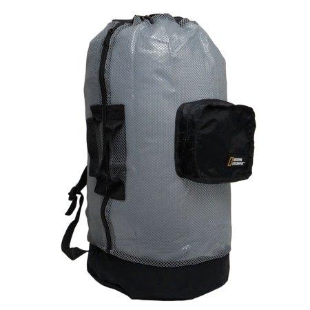 Nat Geo Clamshell Mesh Backpack Dlx 5 Pocket -TI/Bk