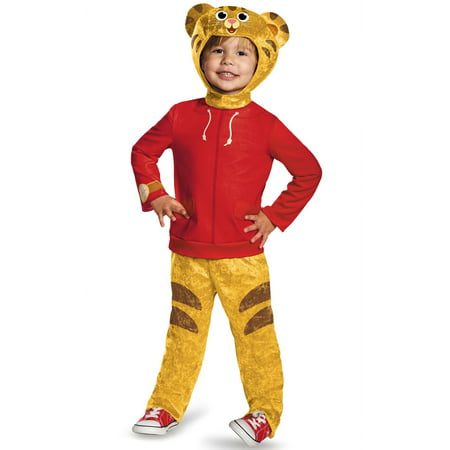 Daniel Tiger Classic Toddler Costume 3-4T