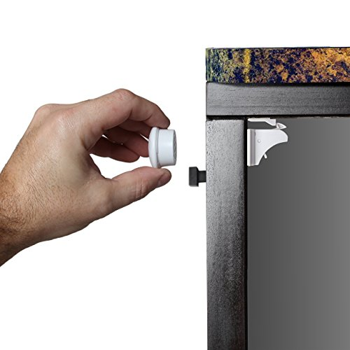 Safety Baby Magnetic Cabinet Locks - No Tools Or Screws Needed (4 ...