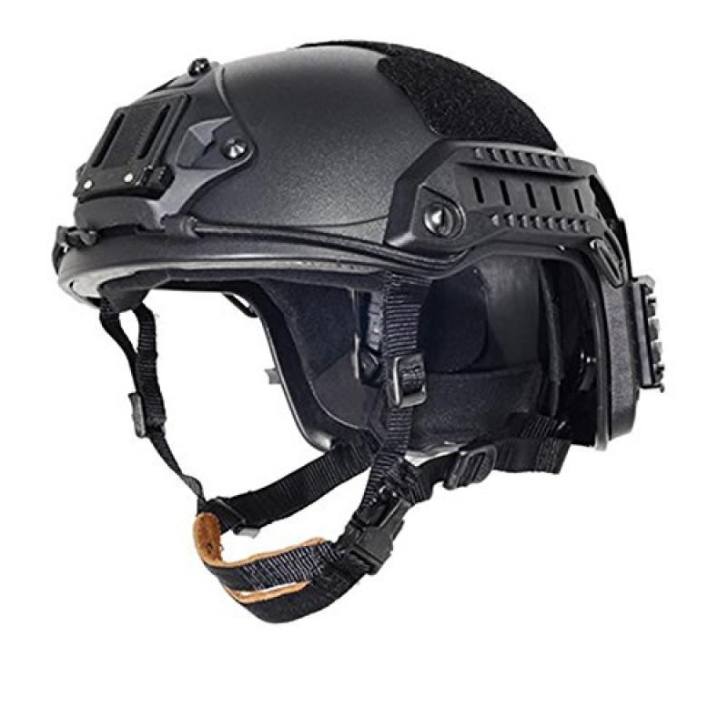 OSdream Adjustable Maritime Helmet ABS Black For Airsoft Paintball  Base Jump Military Helmet L XL by