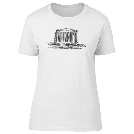 The Athenian Acropolis Sketch Tee Women's -Image by Shutterstock
