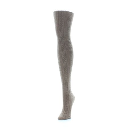 Thick Sweater Tights (MeMoi Textured Sweater Cable)
