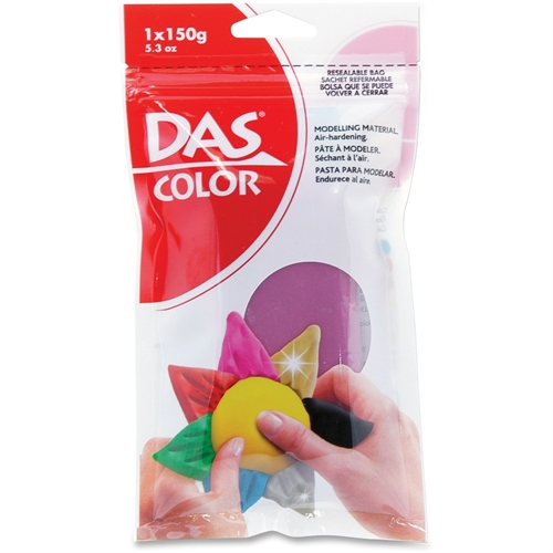 DAS Colored Air Dry Clay 5.3 Ounces-Magenta