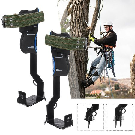 2gears Tree Climbing Utensil Set Safety Rack Pedal Adjustable Lanyard Rope Rescuing Belt for Forest Camping thumbnail