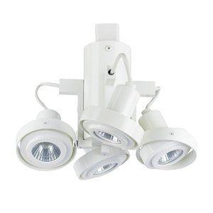 Cal Lighting 4 Light QuadLight Line Voltage Track Head 8W 7H by CAL Lighting