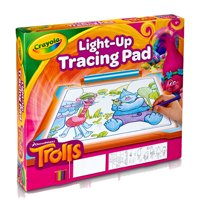 Crayola Trolls Light Up Tracing Pad Gift, Toys for Kids Ages 6+