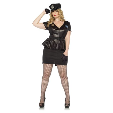 Leg Avenue Traffic Stop Cop Adult Womens Costume