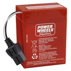 Replacement for FISHER 70.43 JEEP WRANGLER POWER WHEELS BATTERY replacement