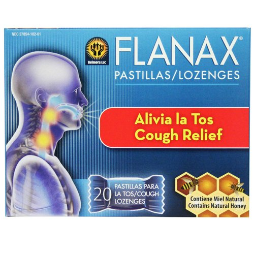 Flanax Cough Relief Lozenges, 20 count