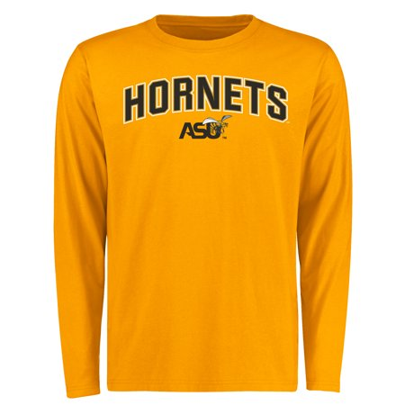 Alabama State Hornets Proud Mascot Long Sleeve T-Shirt - Gold -