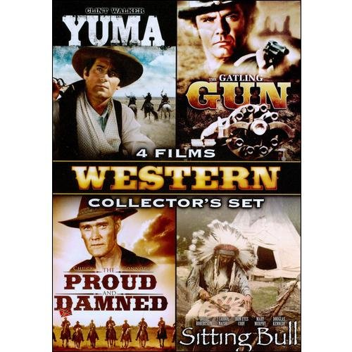 Classic Westerns Collector's Set, Vol. 2: Yuma / The Proud And The Damned / The Gatling Gun / Sitting Bull