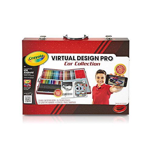 Crayola Virtual Design Pro-Cars Set by Binney & Smith