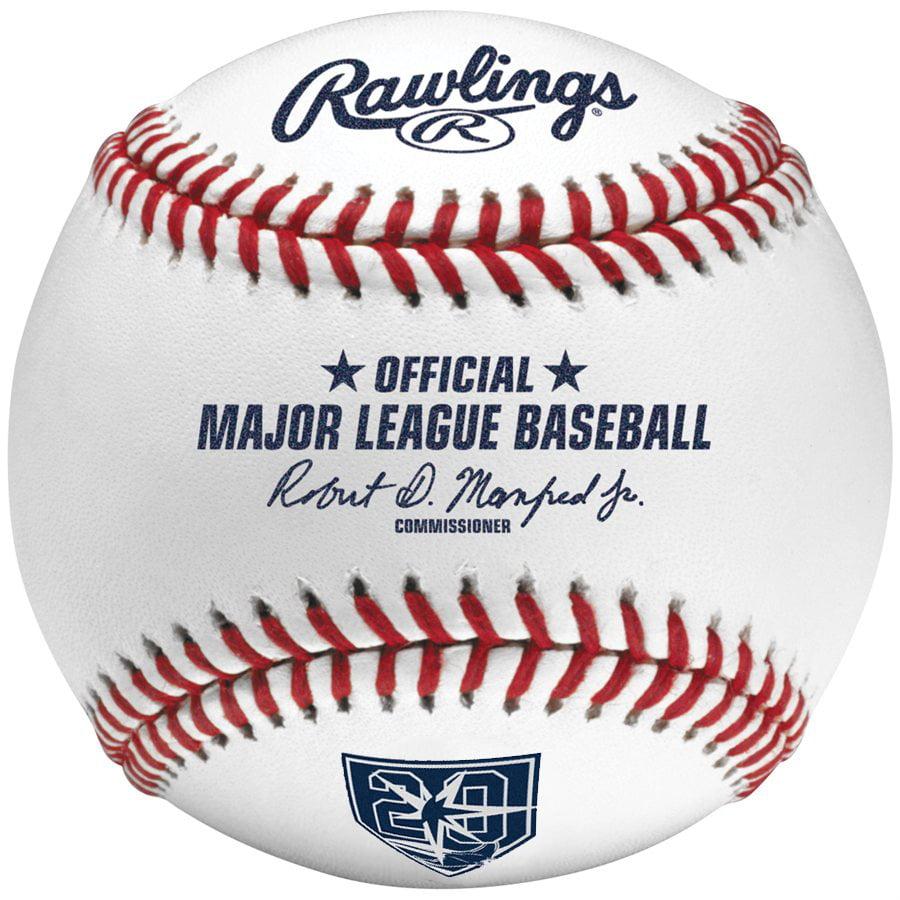 Tampa Bay Rays Rawlings 20th Anniversary Baseball - No Size