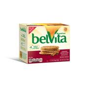 belVita Cinnamon Brown Sugar Breakfast Biscuits, 5 Packs (4 Biscuits Per Pack)