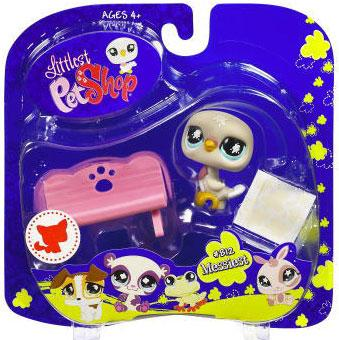 Littlest Pet Shop 2009 Assortment A Series 2 Pigeon Figure [Bench]
