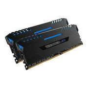 Corsair Vengeance LED 16GB (2 x 8GB) 288-Pin DDR4 SDRAM 3000 (PC4 24000) Memory CMU16GX4M2C3000C15B