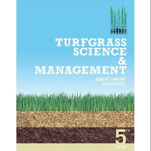 CENGAGE LEARNING 9781111542573 Book,Turfgrass Science and Management G0122626