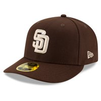 San Diego Padres New Era Alternate 2020 Authentic Collection On-Field Low Profile 59FIFTY Fitted Hat - Brown