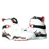 outlet store 6f843 90f85 Product Image Nike Air Jordan 8 Retro BG White Red-Black Big Kids  Basketball Shoes 305368