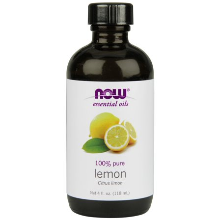 NOW Essential Oils, Lemon, 4 Fl Oz