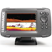 Best Fishfinders - Lowrance 000-14281-001 HOOK 5 Fishfinder with SplitShot Transducer Review