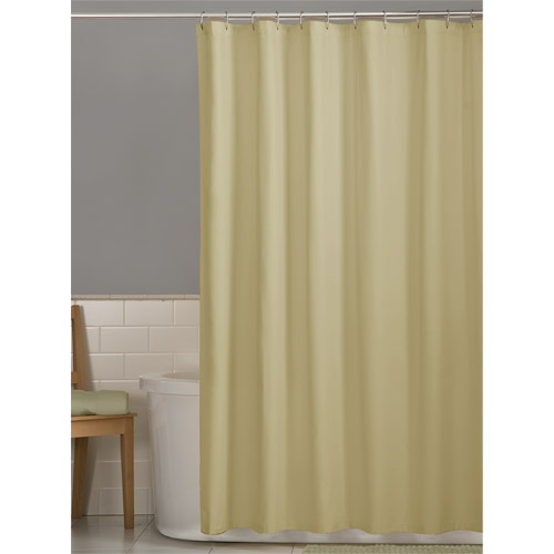 Mainstays Fabric Shower Curtain Liner, Angel Falls