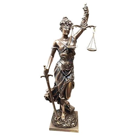 Lady Justice Statue - SCALES OF JUSTICE DIKE LA JUSTICA STATUE FIGURINE LADY JUSTICE JUDGEMENT SWORD