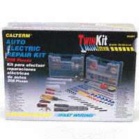 Calterm 5207 Automotive Emergency Electrical Repair Kit, 208 Pieces