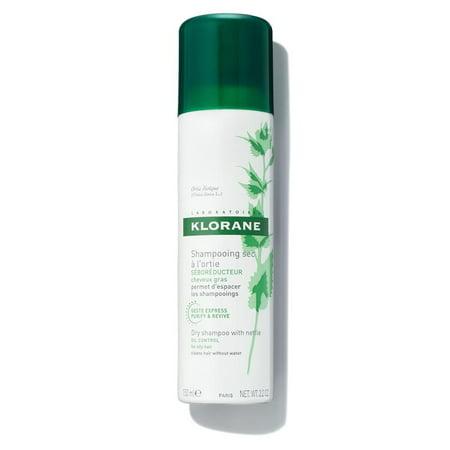 Klorane Dry Shampoo with Nettle, 3.2 Oz (Klorane Gentle Dry Shampoo With Oat Milk Review)