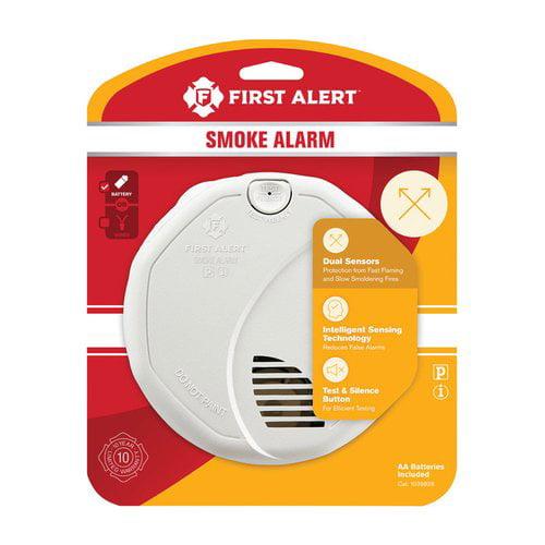 First Alert Battery Ionization Photoelectric Sensor Smoke Detector by First Alert