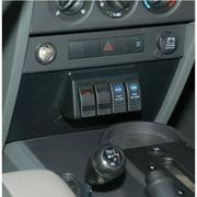 Daystar KJ71030 Lower Dash Switch Panel Kit