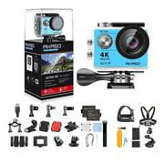 AKASO EK7000 Ultra HD 4K WIFI 170 Degree Wide Waterproof Sports Action DV Camcorder Blue (EK7000) with 7 in 1 Camera Accessories & 1 Year Extended Warranty - Best Reviews Guide