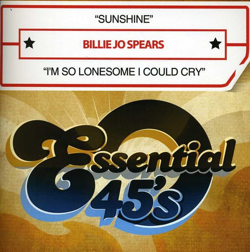 Billie Spears Jo - Sunshine/I'm So Lonesome I Could Cry [CD]