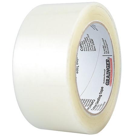 Carton Sealing Tape,Clear,48mmx50m,PK36 ZORO SELECT 31HJ57