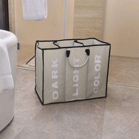 Portable Three Lattice Large Capacity Laundry Basket - Extra Large Lattice