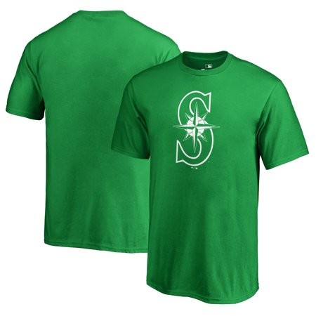 Seattle Mariners Fanatics Branded Youth St. Patrick's Day White Logo T-Shirt - Kelly Green