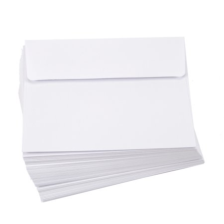 Darice Smooth White A2 Envelopes, 50 Piece Value Pack