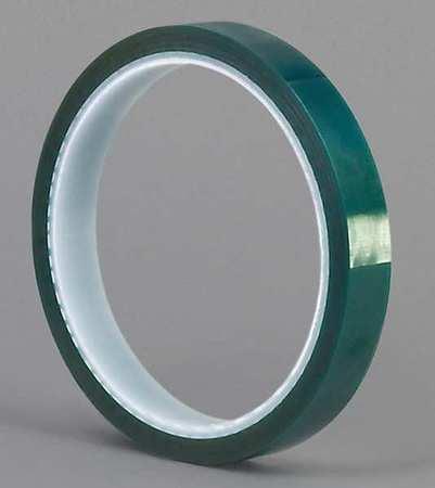 """TAPECASE Masking Tape,Polyethylene,GREEN,1/4"""" M Series"""