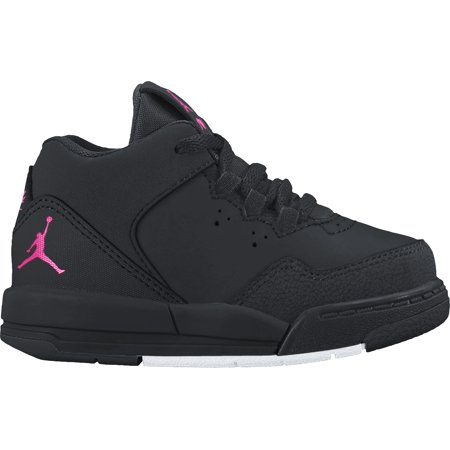 83c87ee9168 ... Jordan Girls TD Flight Origin 2 Black Hyper Pink-White 3C; NIKE ...