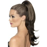 Divinity Wavy Brown Clip-On Ponytail