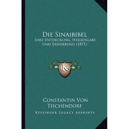 Die Sinaibibel - image 1 of 1