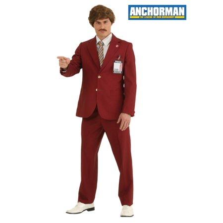 Authentic Ron Burgundy Suit (Ron Burgundy Suit For Sale)